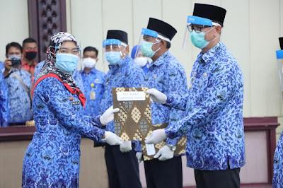 8 Sekda Kabupaten/Kota di Provinsi Lampung Terima Surat Pelaksana Harian (Plh)