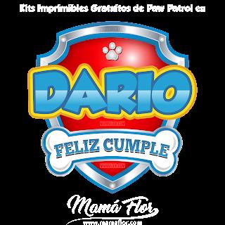 Logo de Paw Patrol: DARIO