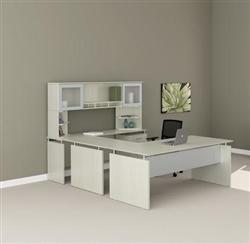 White Medina Desk