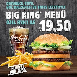 burger king restoran kampanya ve fırsatları 2020