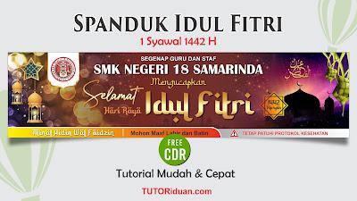 Spanduk Idul Fitri 1442 H