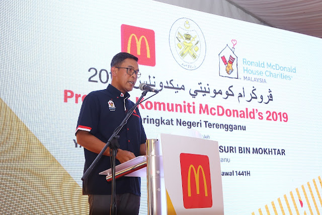 Program Komuniti McDonalds,Encik Azmir Jaafar, Pengarah Urusan dan Rakan Operasi Tempatan, McDonald's Malaysia