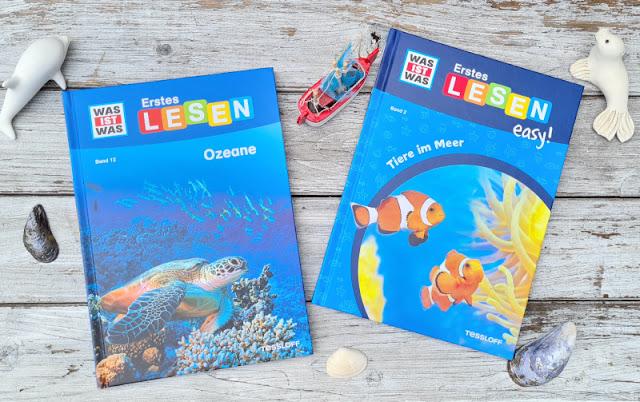 WAS IST WAS Erstes Lesen: Spannende Sachbücher für Leseanfänger. Themen wie Ozeane, Tiere im Meer, Wale und Delfine sowie Haie interessieren Kinder wirklich und motivieren sie zum Selberlesen.