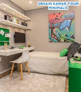 desain kamar tidur remaja