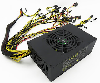 GPU rig power supply