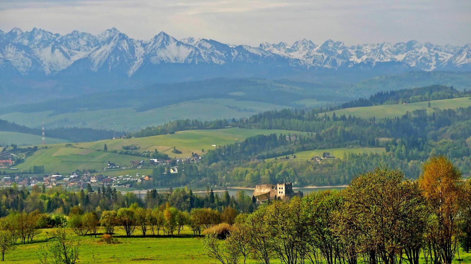 Zamki, góry i doliny – weekendowe Pieniny