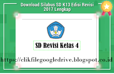 Download Silabus Kurikulum 2013 SD Revisi Kelas 4