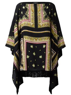 Ethno silk tunic