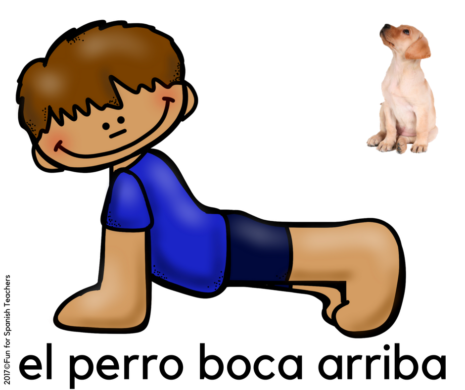 5 Easy Yoga Poses For Spanish Class Funforspanishteachers
