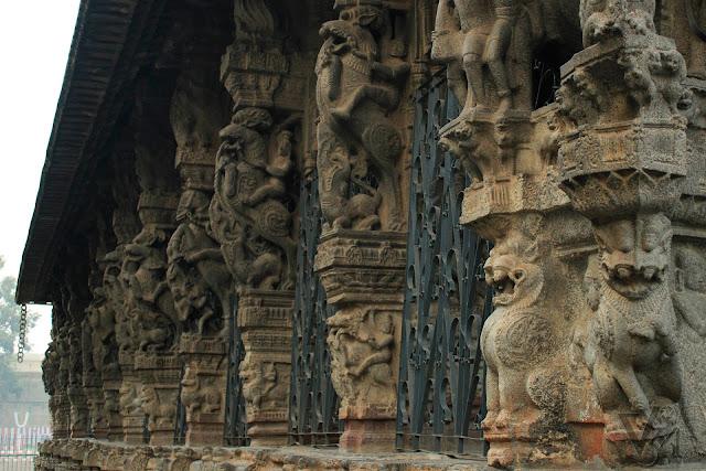 The Vijayanagara period 100-pillared Mantapa
