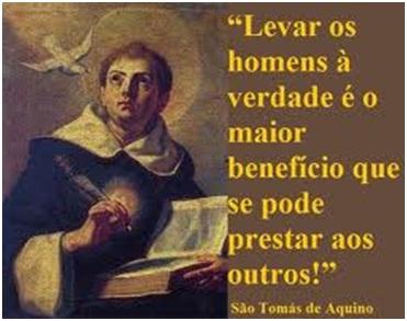 Cristo Minha Certeza Frases De Santo Tomás De Aquino