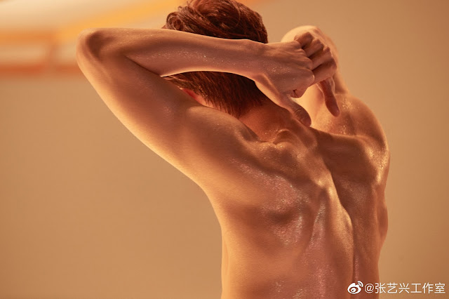 Zhang Yixing Lay sexy photo