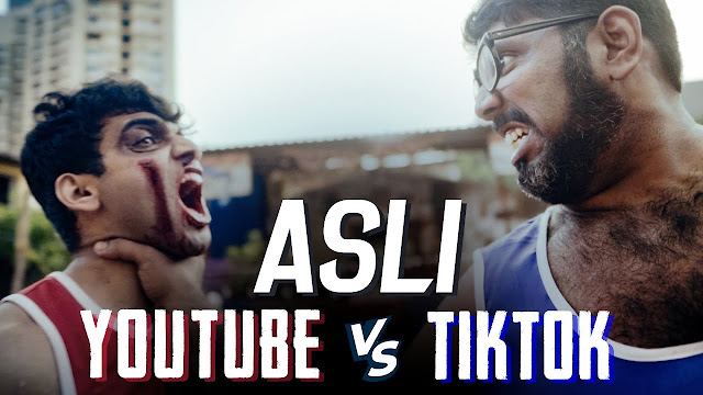 Asli Youtube Vs Tiktok Lyrics -  Salil Jamdar