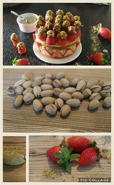 fraisier-de-pistachos, pistachio-frasier
