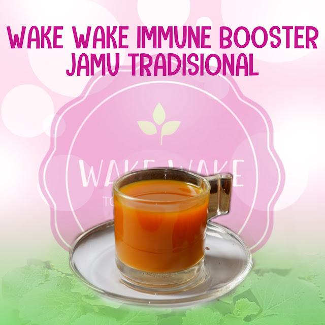 Wake Wake Immune Booster - Jamu Tradisional, Konsumsi Rimpang Tanpa Rempong