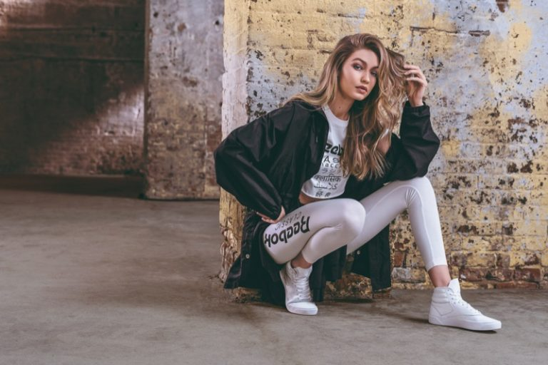 Gigi Hadid for Reebok Freestyle Hi Nova Sneaker