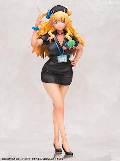 Galko Black Nurse Style 1/8 de Oshiete! Galko-chan - Aquamarine