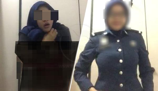 Viral video tak senonoh awek 'kastam' terlampau