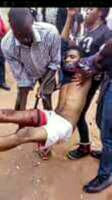 Nigeria Military Shooting Directly to Nnamdi Kanu's Home