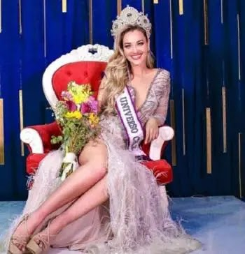 Daniela Elsa Nicholas ... a young woman of Lebanese descent wins the Miss Chile 2020 title