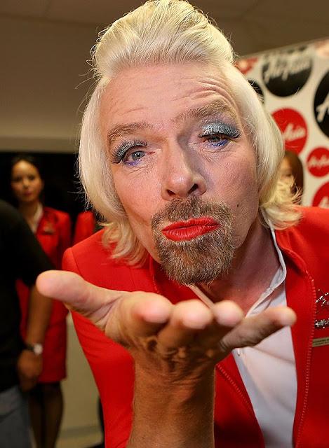 Welcome To Alvin Uche Blog: FUNNY PHOTOS: Richard Branson