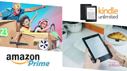Amazon Prime ou Kindle Unlimited?
