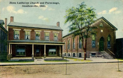 Zion Lutheran Church and Parsonage, Steubenville, Ohio
