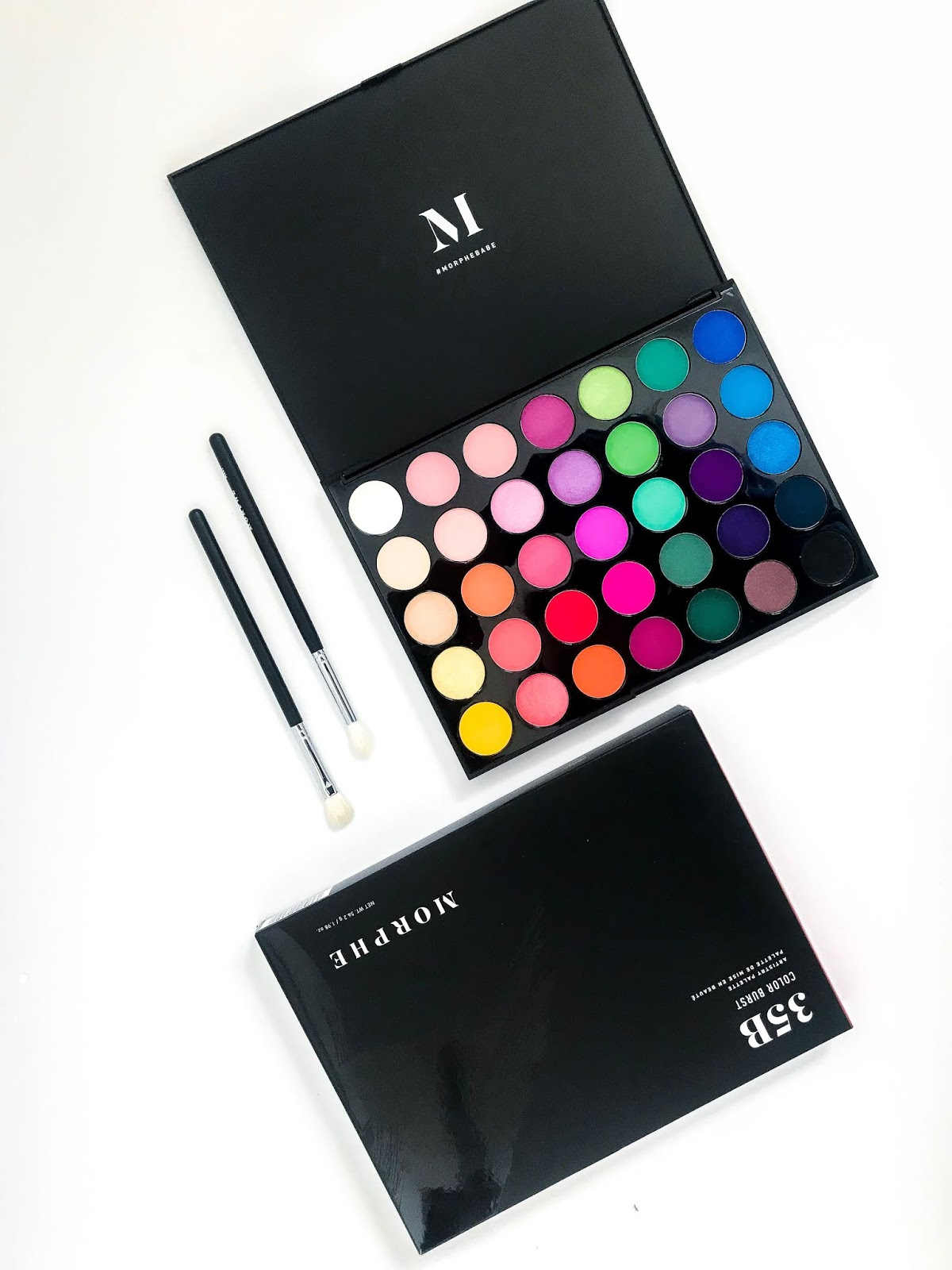 morphe 35b colour artistry palette review is it worth the hype