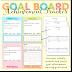 Goal Board Achievement Board