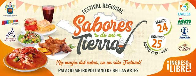 """Festival Regional """"Sabores de mi Tierra"""""""