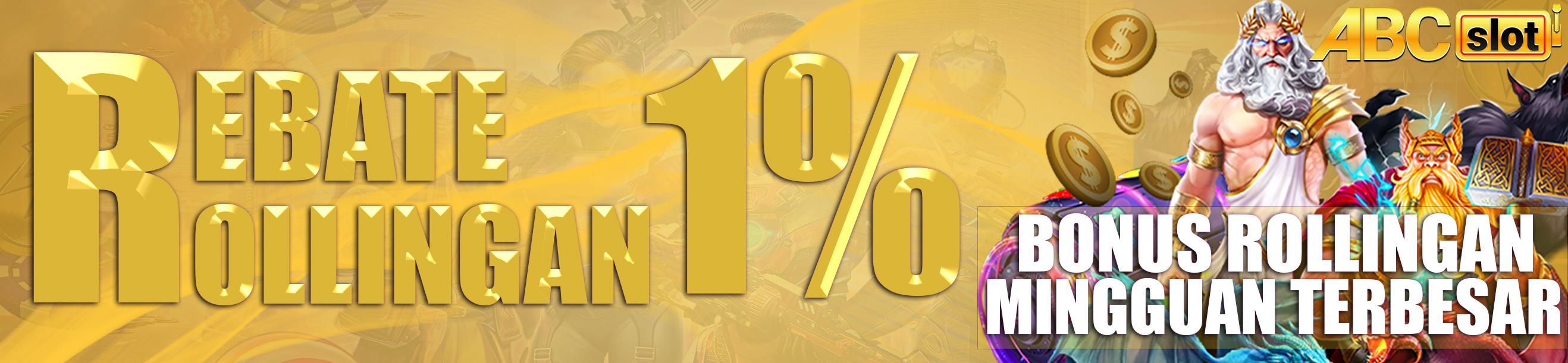 REBATE / ROLLINGAN UPTO 1%