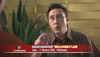 Balik Kampung Tak Lonely Lagi (TV3). Jangan lupa untuk saksikan telefilem komedi seram 'Balik Kampung Tak Lonely Lagi' .