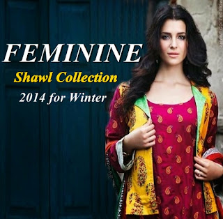 Feminine Shawl Collection 2014-2015