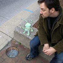 Seni Menggambar 3D di Jalanan dengan Kapur Yang Keren Kreatif dan Sangat Menginspirasi-16