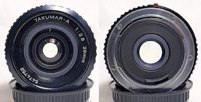 Takumar-A 28mm 1:2.8 (PKA Mount) #752