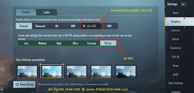 PUBG Mobile 90 fps Config + Pak file