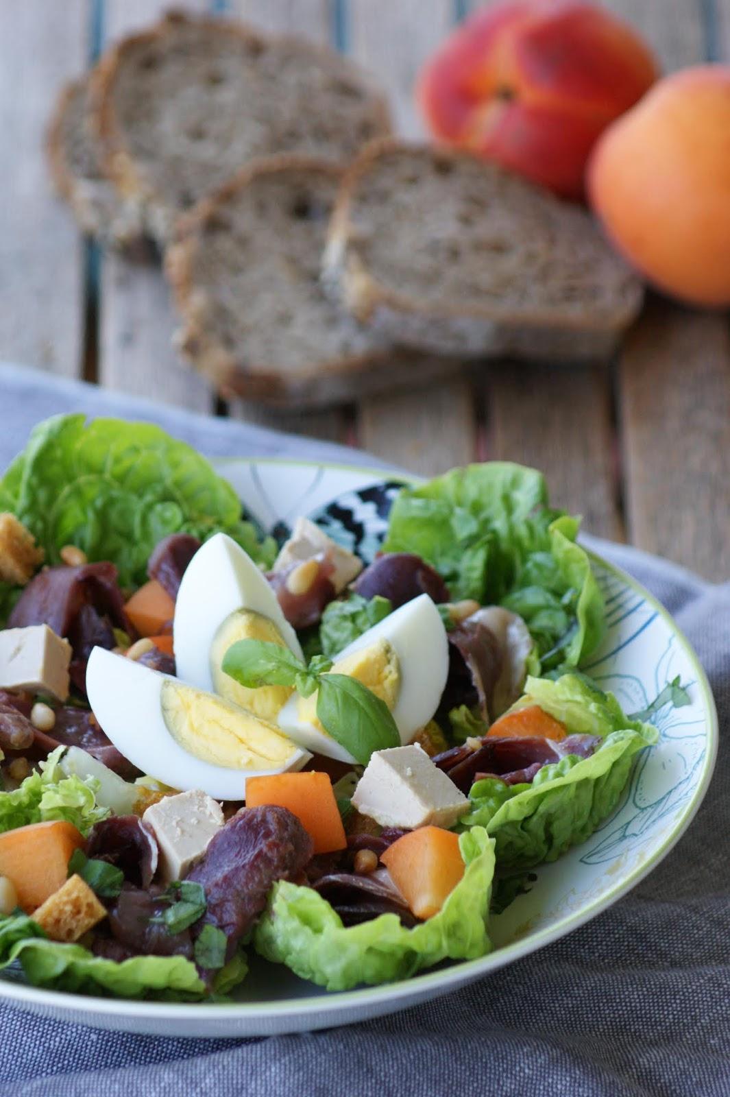 Salade Périgourdine Recette Cyril Lignac : salade, périgourdine, recette, cyril, lignac, Afternoon, Salade, Périgourdine, Façon