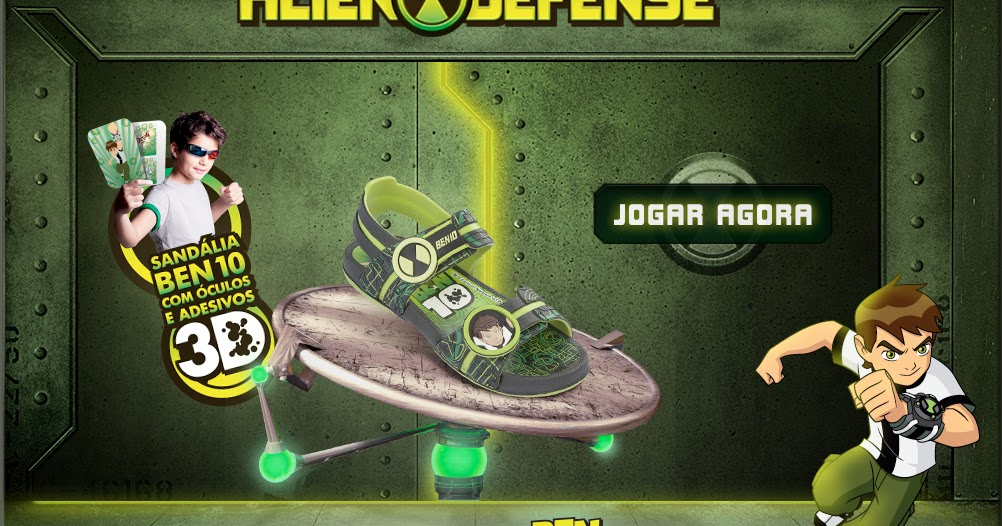Ben 10 Series Jogo Ben 10 Alien Defense Grendene Kids