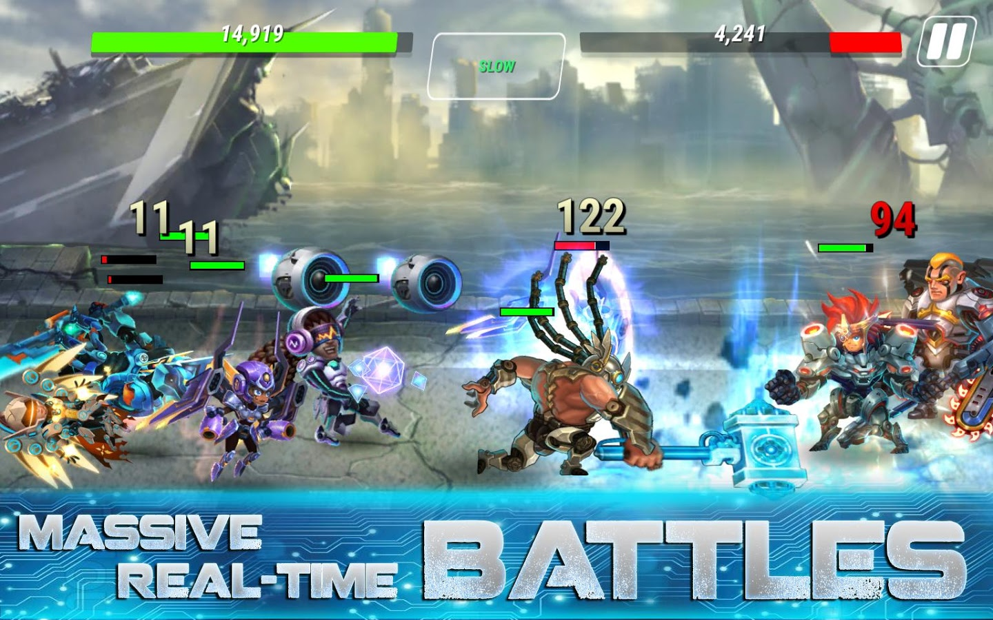 Heroes Infinity: Gods Future Fight MOD APK