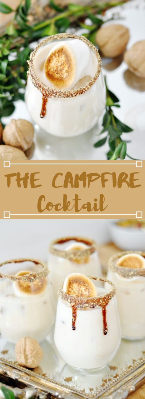 THE CAMPFIRE COCKTAIL #drink #cocktail #sangria #party #recipes