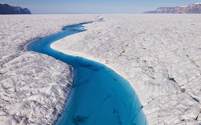 Greenland glacier Petermann