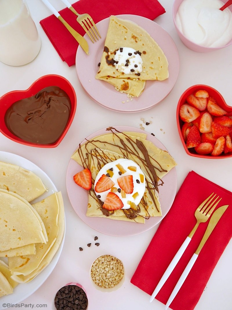 French Crepes Pancake Recipe