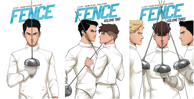 [Rezension] Fence Volume 1, 2 und 3 – C. S. Pacat & Johanna the Mad