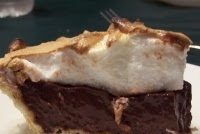 Old Fashioned Homemade Chocolate Pie