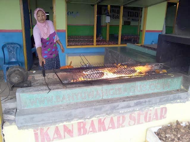 Ikan bakar Blimbingsari.
