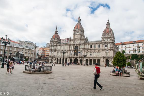 Plaza Maria Pita. Visitar A Coruña en 2 dias