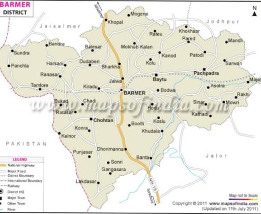 चौहटन का इतिहास History of Chothan