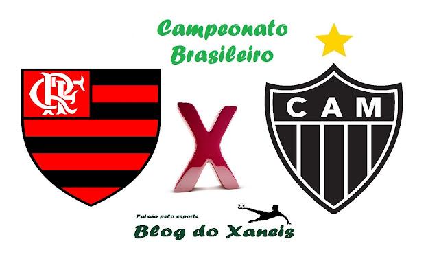 Acompanhe o jogo Flamengo x Atlético MG ao vivo - Campeonato Brasileiro