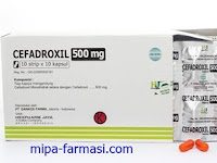 Cefadroxil - Kegunaan, Dosis, Efek Samping