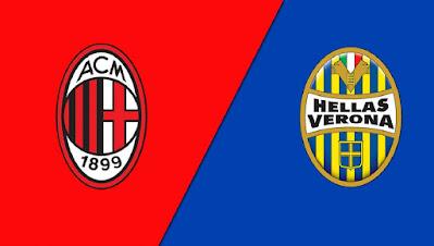 مشاهدة مباراة ميلان ضد هيلاس فيرونا اليوم 8-11-2020 بث مباشر في الدوري الايطالي